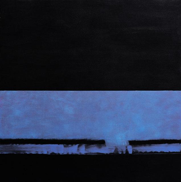 Nuées, 120x120 cm