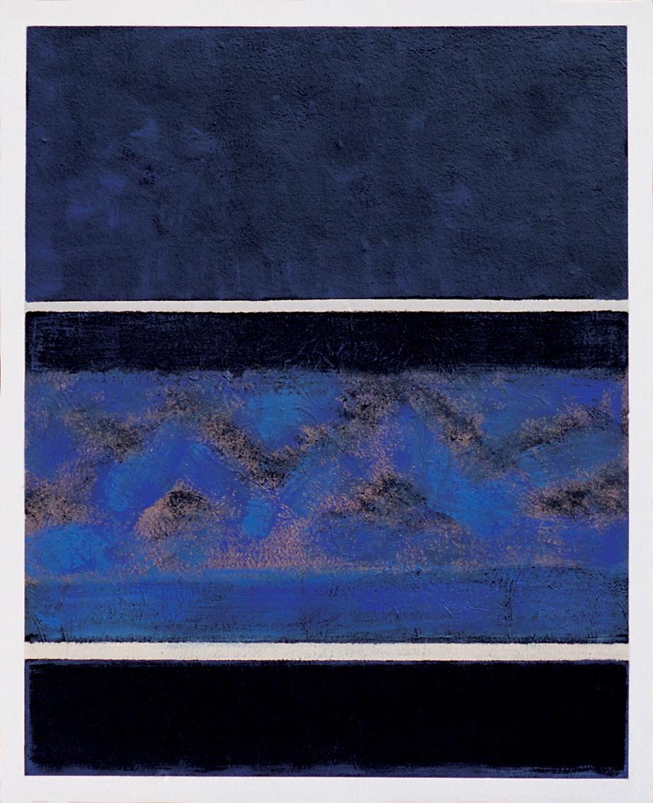 Nuit indienne, 100x81 cm