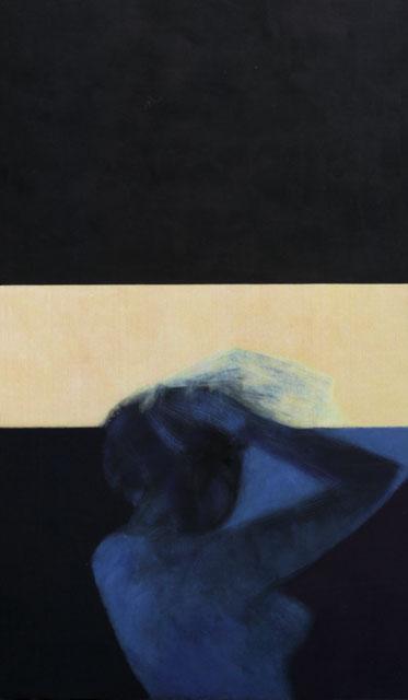 Le mal d'aurore, 173x100 cm